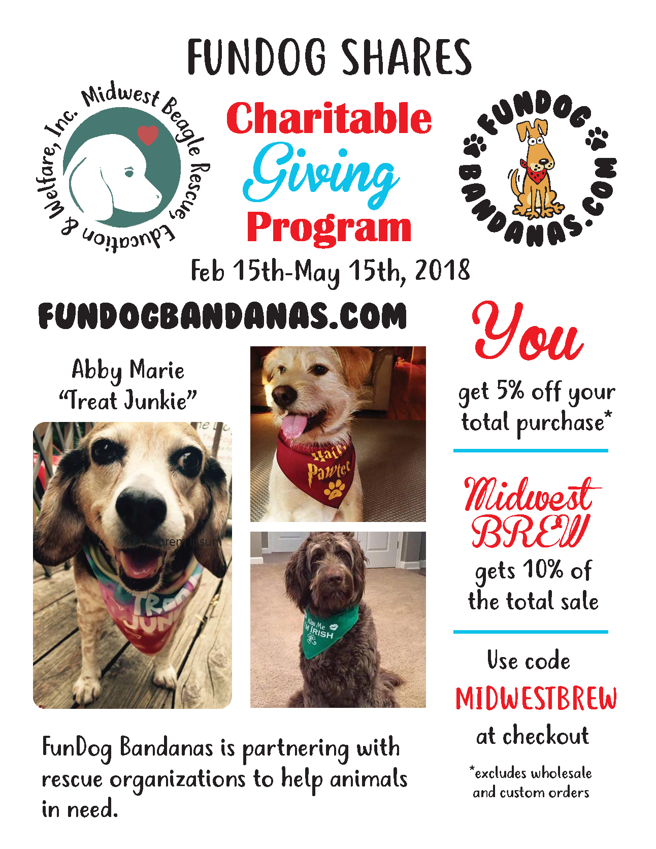 Charitable Giving Program MIDWEST BREW
